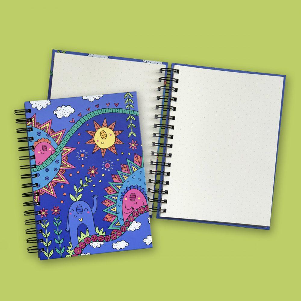 Cuaderno Paraiso Prueba
